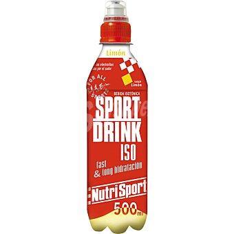 NUTRISPORT Bebida isotónica sabor limón Sport Drink Iso Botella 500 ml