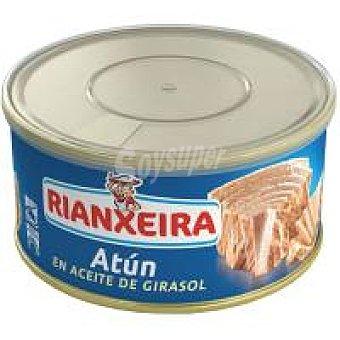 Rianxeira Atún en aceite de girasol Lata 1 kg