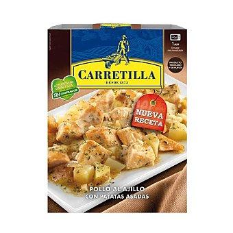 Carretilla Pollo al ajillo con patatas asadas 250 g