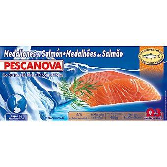 Pescanova Medallones de salmón Estuche 400 g neto escurrido