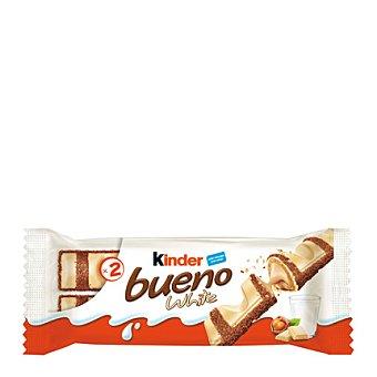 Kinder Bueno Barritas de chocolate blanco con leche 43 g