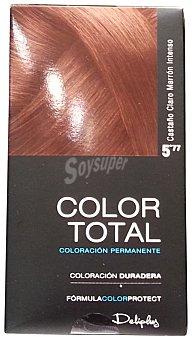Deliplus Tinte coloracion permanente Nº 05.77 castaño claro marron intenso u