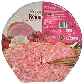 Hacendado Pizza congelada reina (tomate, jamon cocido, queso) u 390 g