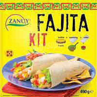 Zanuy Fajita kit Caja 490 g