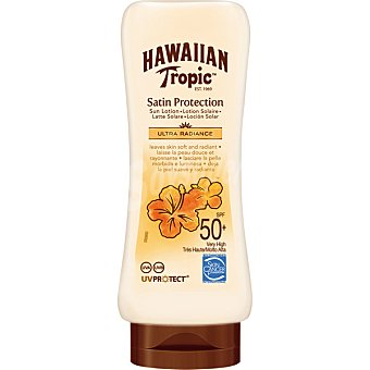 Hawaiian Tropic Loción solar protectora FP-50 Frasco 200 ml