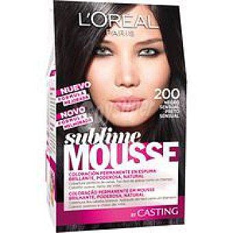 Sublime L'Oréal Paris Tinte negro sensual N. 200 Caja 1 unid