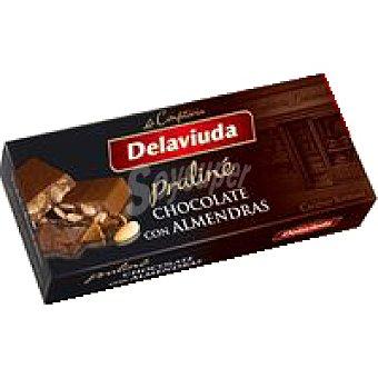 Delaviuda Turrón de chocolate con almendras Caja 300 g