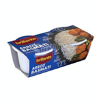 Brillante Arroz basmati Pack 2 x 125 g