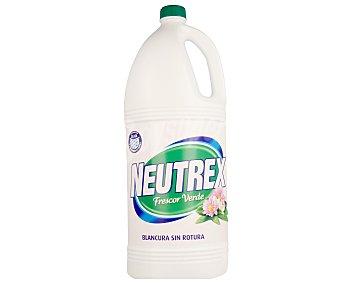 Neutrex Lejía perfumada Frescor Verde Botella de 4 l