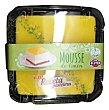 Tarta limon 9 raciones (cuadrada) sin gluten pasteleria congelada, deleites 1 u - 805 g MOUSSE