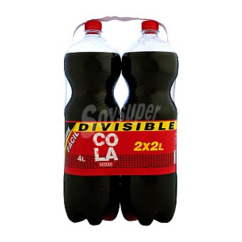 Hacendado Cola normal 2 botellas de 2 litros