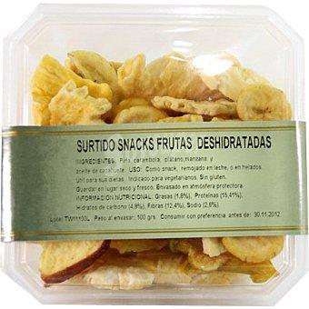 Fanya Surtido snacks frutas deshidratadas Bandeja 100 g