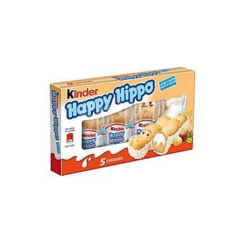 Ferrero Happy Hippo galleta rellena de leche y crema de avellanas Caja 5 unidades x 103 g