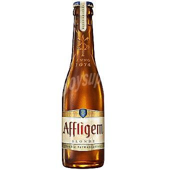 AFFLIGEM BLONDE Cerveza rubia doble fermentación belga Botella 30 cl