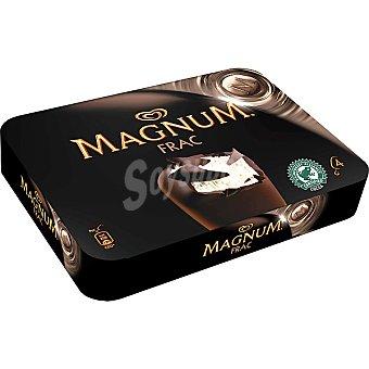 Magnum Frigo Magnum Frac de chocolate negro Pack 4x110 ml