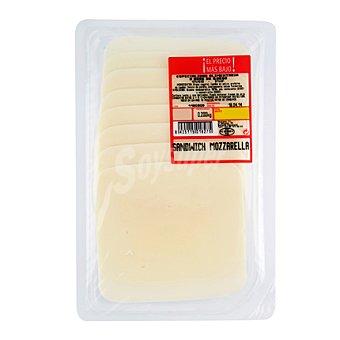 Queso Mozzarella loncheado para fundir Sobre de 200 g