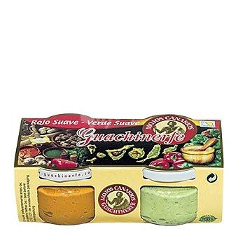 Guachinerfe Pack Mojo rojo y verde Pack de 2x120 g