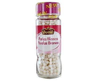 VAHINÉ Perlas de azúcar marfil para confitería 55 gramos