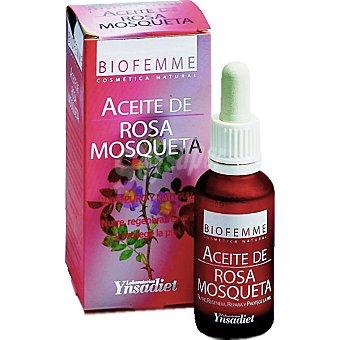 Biofemme Aceite de rosa mosqueta 100% puro y natural Envase 30 ml