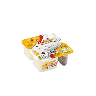 Postres Reina Yogur natural con filipino de chocolate blanco 2 unidades de 143 gramos