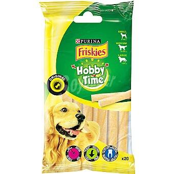 FRISKIES PLEASURE CHEWING Bastoncillos ondulados para perro Paquete 20 unidades