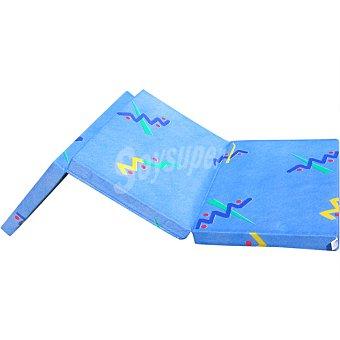 Espuman CO3PZ Colchón azul para cunas de viaje 1 Unidad