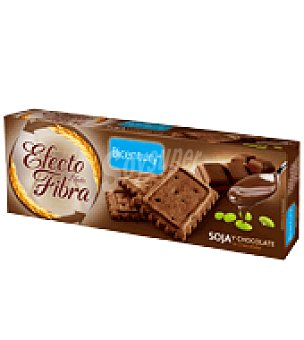 Bicentury Galleta soja y chocolate efecto fibra 160 g