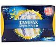 Tampones Compak Pearl Regular  Caja de 36 unidades Tampax