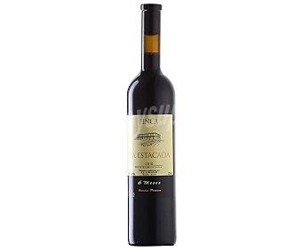 Finca la Estacada Vino tinto con denominación de origen Uclés (cuenca) botella de 75 centilitros 75cl