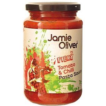 JAMIE OLIVER Salsa para pasta de tomate y chili Frasco 350 g