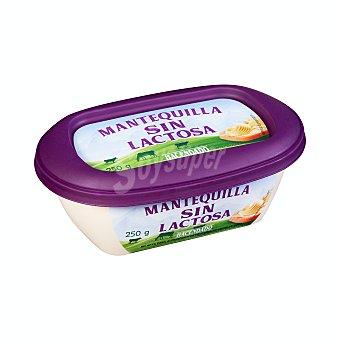 Hacendado Mantequilla sin lactosa Tarrina 250 g