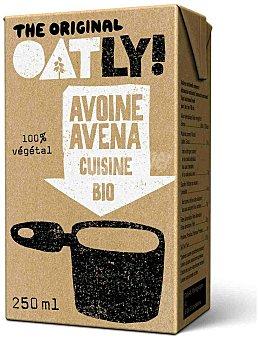 OATLY Crema de avena para cocinar Bio  Envase de 250 ml