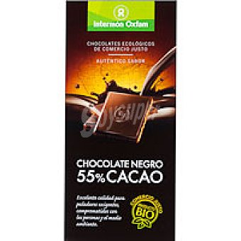 OXFAM Chocolate Negro 55% 100 Gr