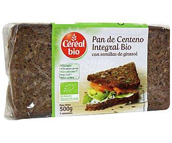CEREAL BIO pan de centeno con semillas de girasol ecológico Envase 500 g