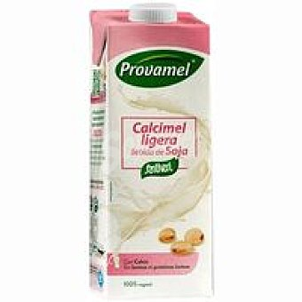 Provamel Bebida de Soja con Calcio Ligera Brik 1 litro