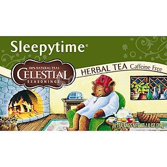 Celestial Seasonings té descafeinado Sleepytime Envase 20 unidades