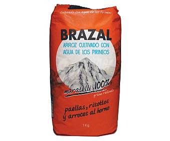 Brazal Arroz redondo Paquete 1 kg