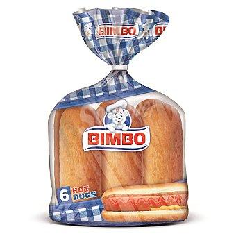 Bimbo Pan para perritos calientes  Pack 6 uds (330 g)