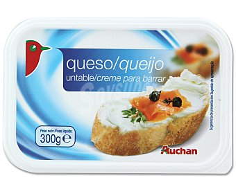 Auchan Queso de untar natural 300 gr