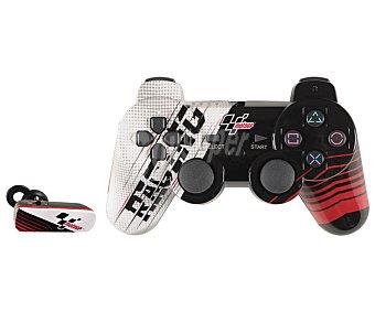 Indeca Mando wireless, sin cable, más auricular para chat online, diseño Moto Gp para Playstation 3 1 unidad
