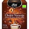 Infusión de cáscara de cacao, naranja y canela ecológica sin gluten y sin lactosa Estuche 12 bolsitas Yogi Tea