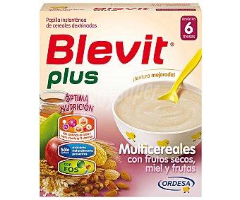 Blevit Papilla multicereals con frutos secos, miel y fruta, a partir de 6 meses 600 g