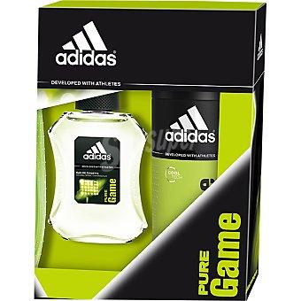 Adidas Eau de toilette natural masculina Pure Game spray 100 ml + desodorante spray 150 ml Spray 100 ml