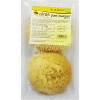 Airos Pan burguer sin gluten Paquete 200 g