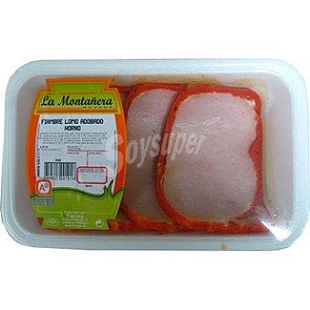 LA MONTAÑERA Lomo adobado de cerdo al horno peso aproximado Bandeja 400 g