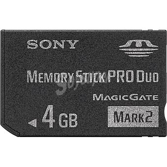 Sony Tarjeta de memoria de 4 GB + adaptador