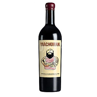 MACHOMAN Vino tinto monastrel 4 meses en barrica DO Jumilla Botella 75 cl