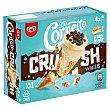 Crush helado cono chocolate blanco XXL Caja 4 uds 240 gr Cornetto Frigo