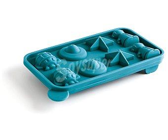 QUID Molde para 8 Cakepops de divertidas formas fabricado en silicona antiadherente 1 Unidad