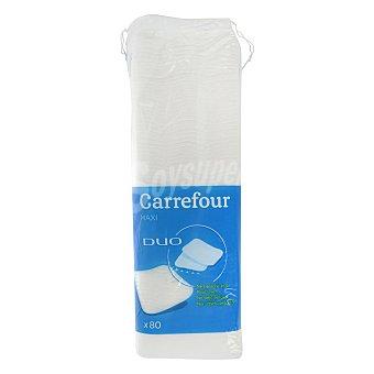 Carrefour Discos desmaquillantes cuidado facial 80 ud